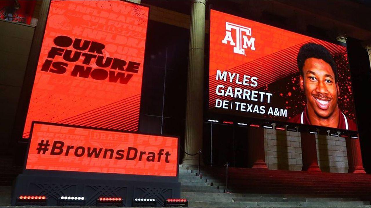 NFL Draft 2017: Myles Garrett - Bildquelle: imago/Icon SMI