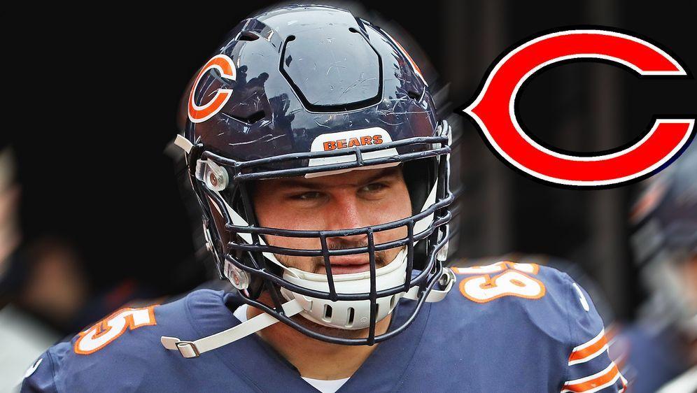 Cody Whitehair verlängert seinen Vertrag bei den Chicago Bears - Bildquelle: Getty/ran.de