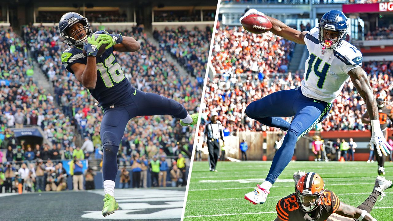 Wide Receiver: Tyler Lockett oder DK Metcalf - Bildquelle: getty