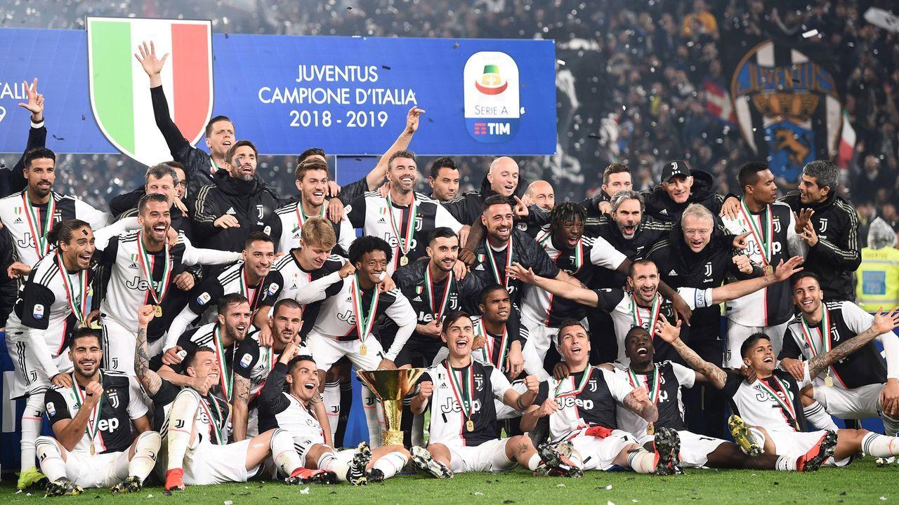 Topf 1: Juventus Turin - Bildquelle: imago images / AFLOSPORT