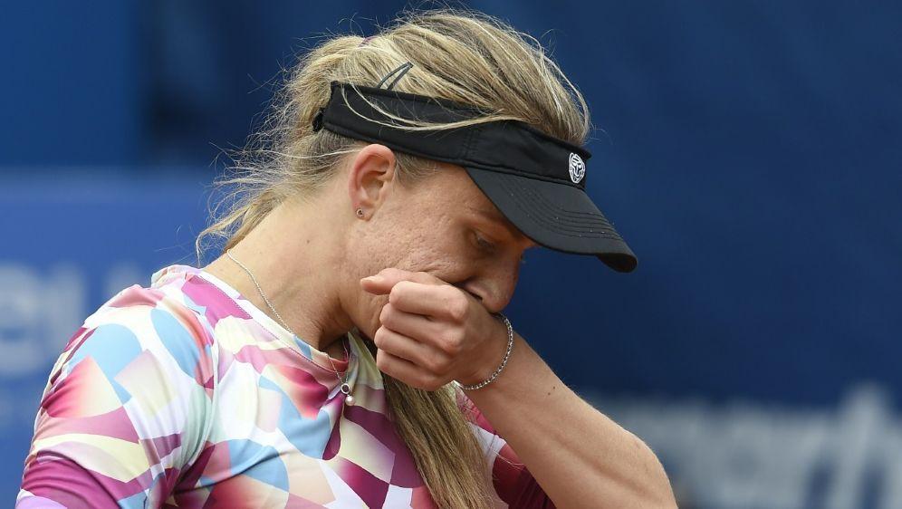 Erstrunden-Aus für Tennisspielerin Mona Barthel - Bildquelle: AFPSIDMICHAL CIZEK