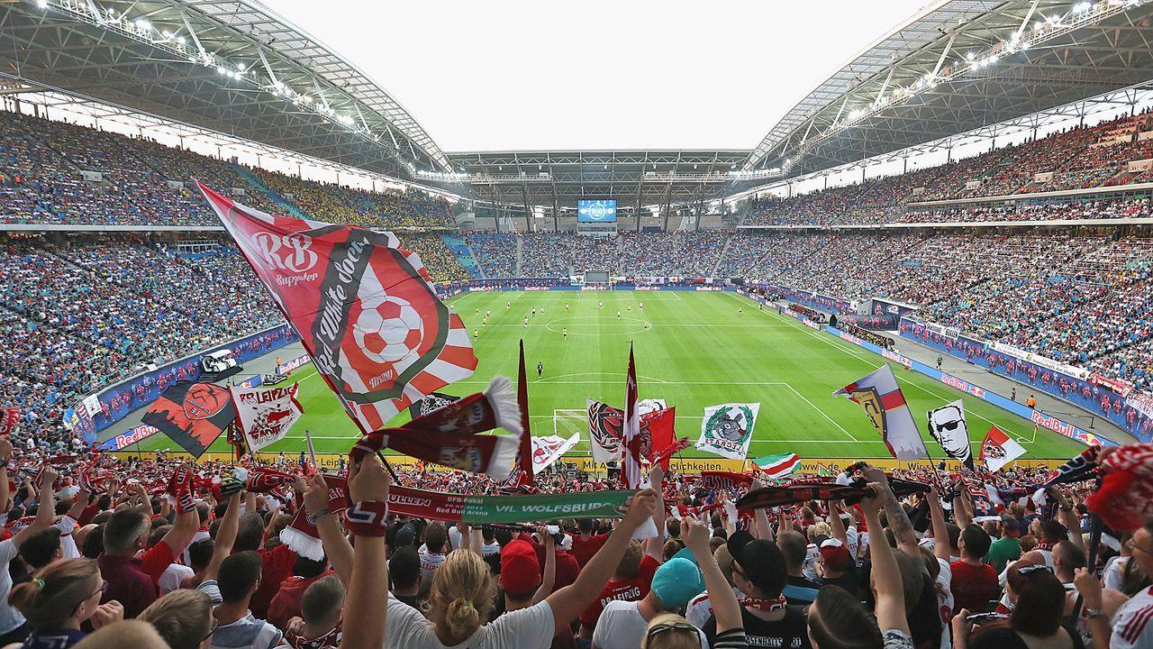 Platz 11: RB Leipzig - Red Bull Arena - Bildquelle: Getty
