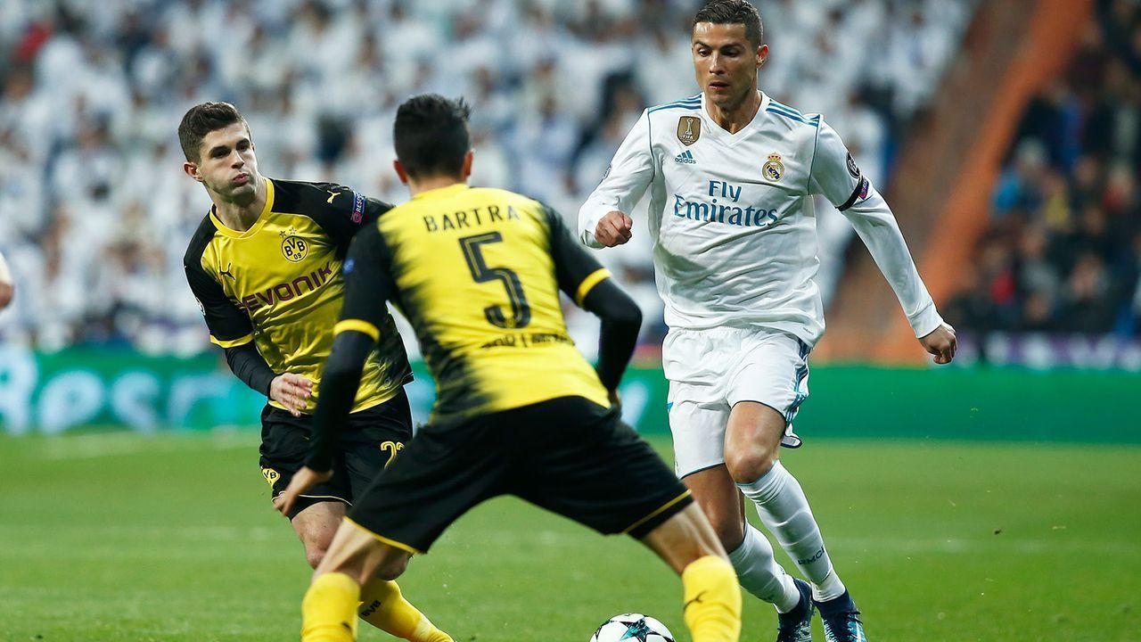 Platz 5: Borussia Dortmund - Bildquelle: 2017 Getty Images