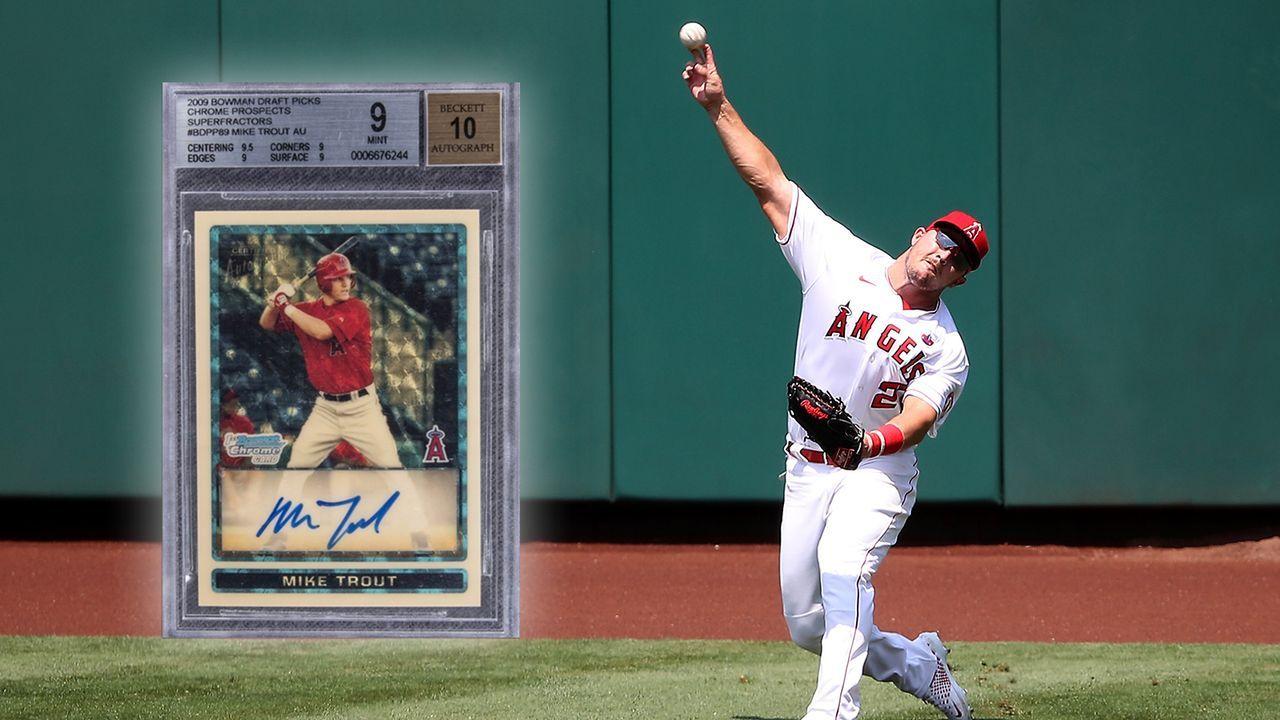 Sammelkarte von Baseball-Star für fast vier Millionen Dollar ersteigert - Bildquelle: Getty Images/Twitter: @GoldinAuctions