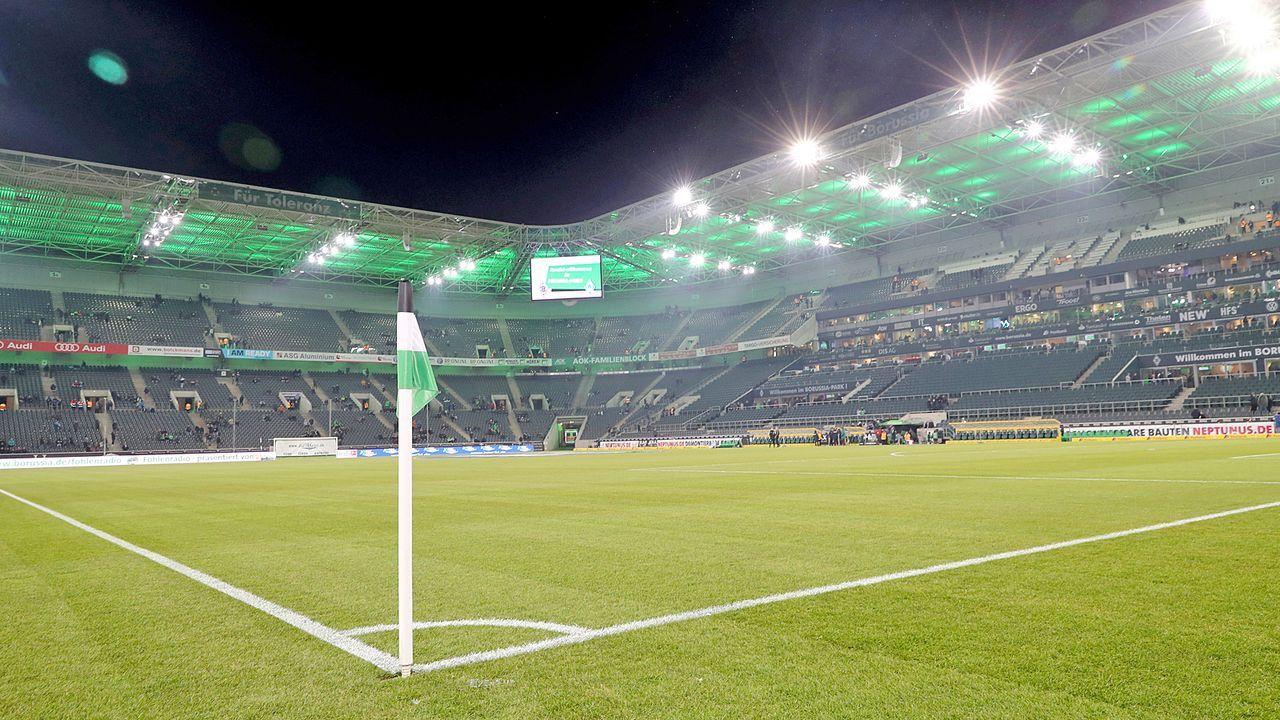 Platz 7: Borussia Mönchengladbach - Stadion im Borussia-Park - Bildquelle: Getty