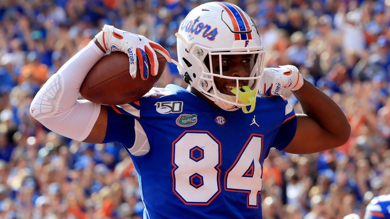 Pick 5: Kyle Pitts (Tight End, Florida) - Bildquelle: 2019 Getty Images