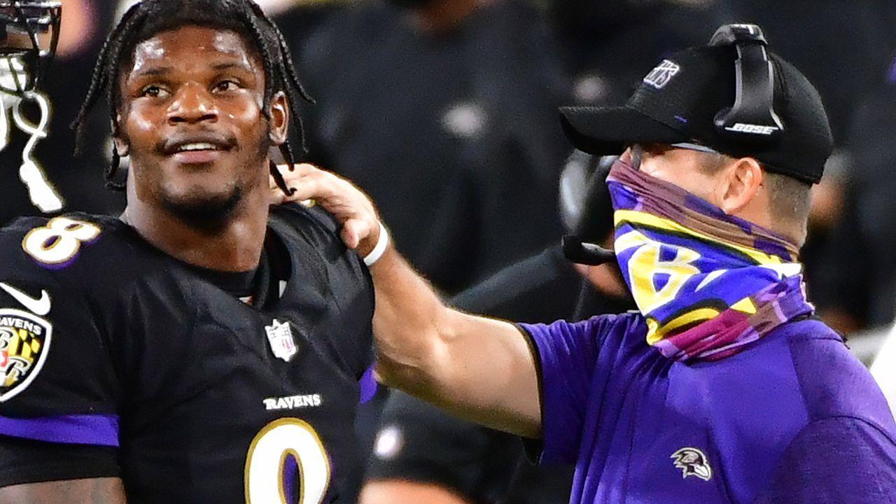 27. Pick (Baltimore Ravens) - Bildquelle: imago images/UPI Photo