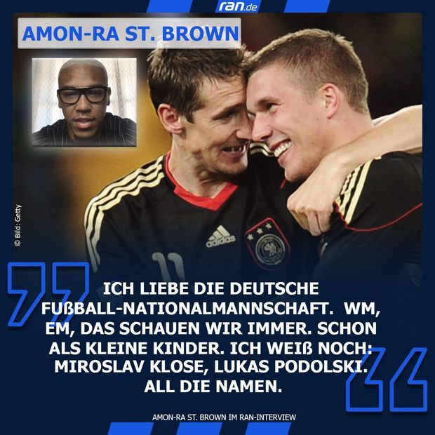 Link in BIO - Amon-Ra St. Brown Fußball