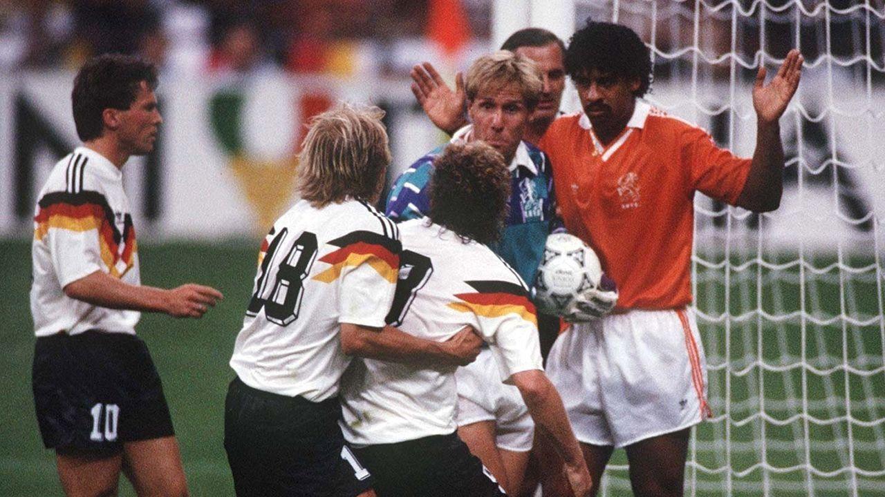 Deutschland – Niederlande 2:1 (WM 1990, Achtelfinale) - Bildquelle: Bongarts