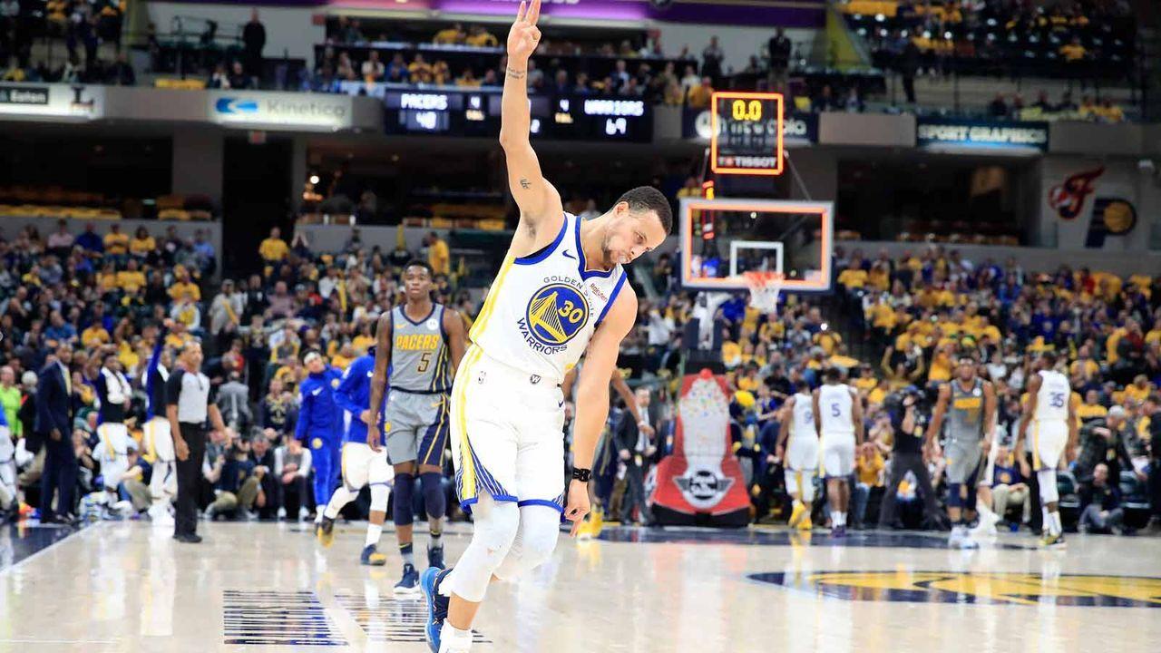 Platz 2: Stephen Curry - Bildquelle: getty
