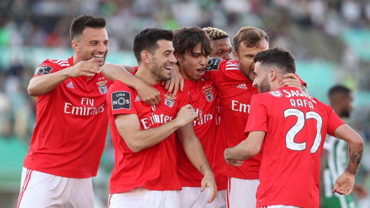 Platz 1: Benfica Lissabon - Bildquelle: imago