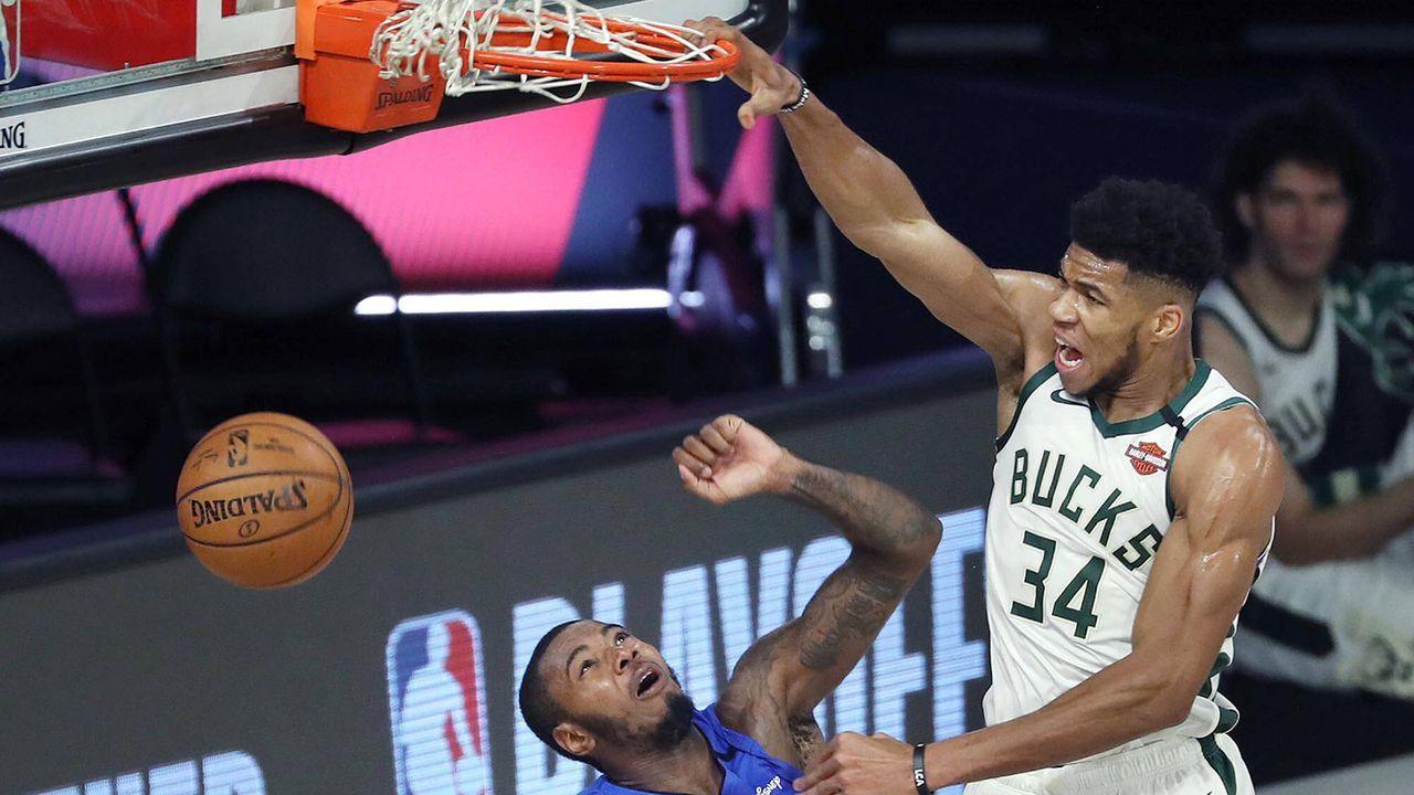 Platz 2 - Milwaukee Bucks - Bildquelle: Getty Images