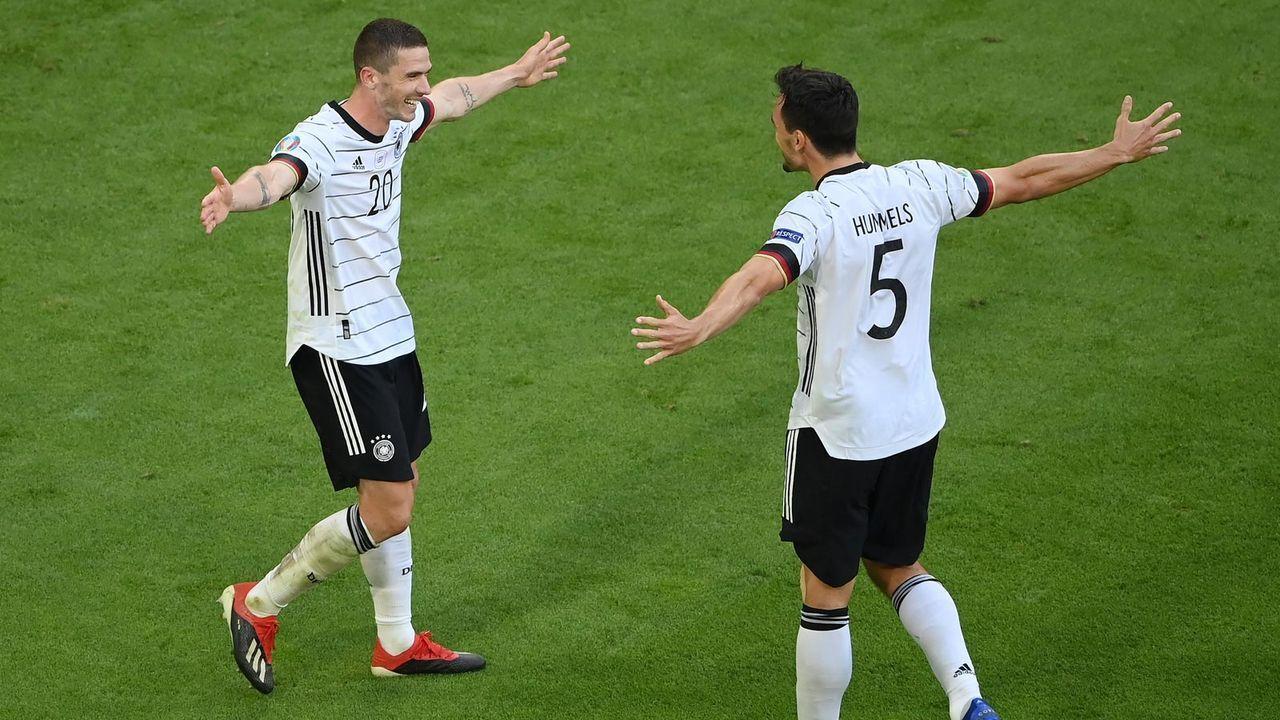 Gruppe F: Deutschland erreicht das Achtelfinale ... (3 Punkte/4:3 Tore) - Bildquelle: getty