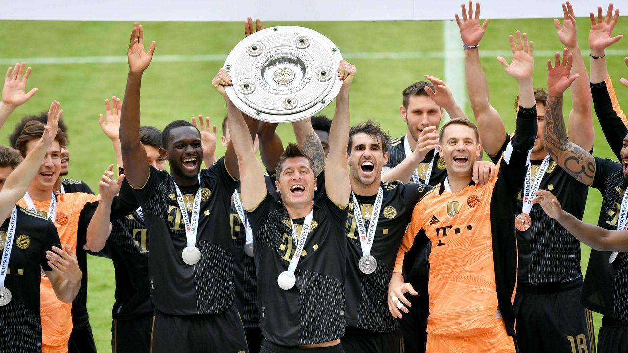 Platz 2: FC Bayern München (32,59 Millionen Euro) - Bildquelle: Imago Images/Sven Simon
