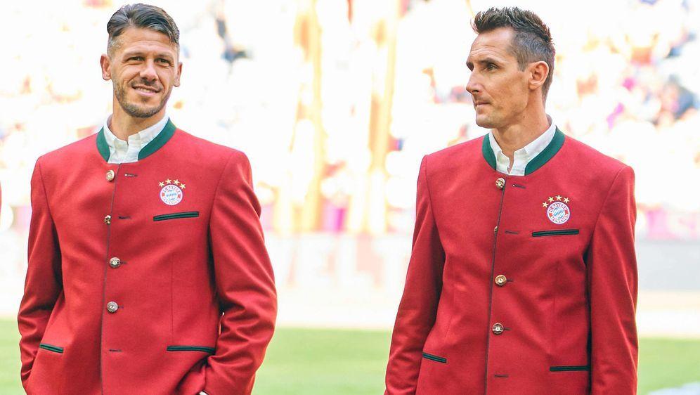 Martin Demichelis (li.) und Miroslav Klose (re.) spielten früher zusammen fü... - Bildquelle: imago/ActionPictures