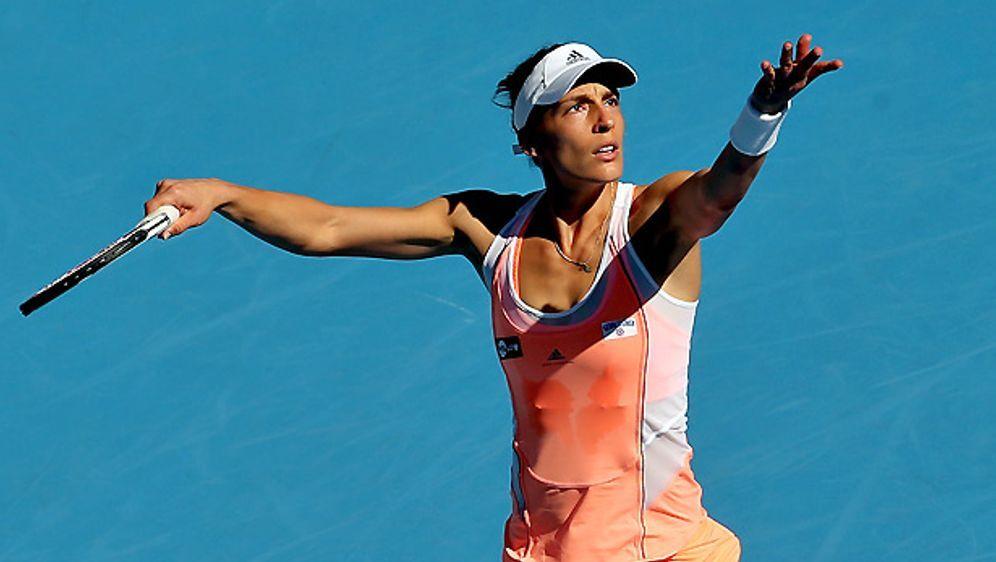 Andrea Petkovic scheidet im Achtelfinale aus - Bildquelle: getty