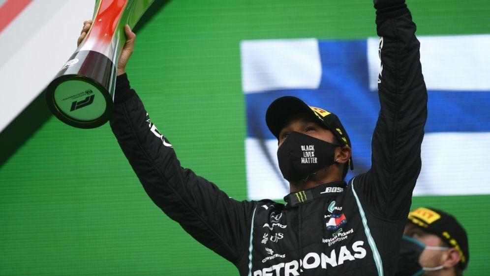 Hamilton klarer Imola-Favorit - Mercedes macht WM klar - Bildquelle: AFPSIDRUDY CAREZZEVOLI