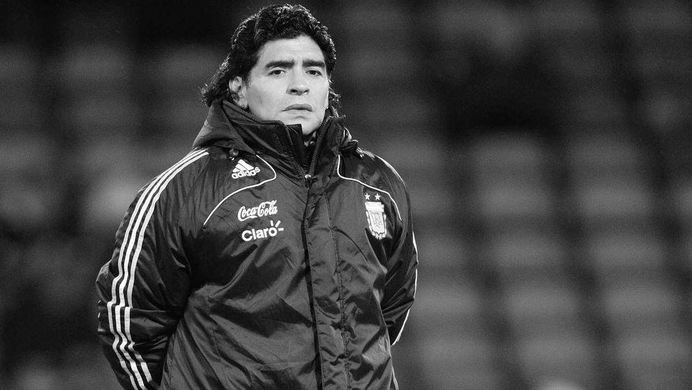 Diego Maradona starb im Alter von 60 Jahren. - Bildquelle: imago images/PA Images
