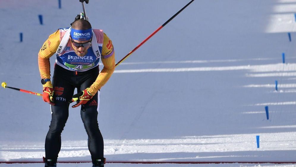 Erik Lesser wird in Kontiolahti über 20 km Dritter - Bildquelle: AFPSIDMARCO BERTORELLO