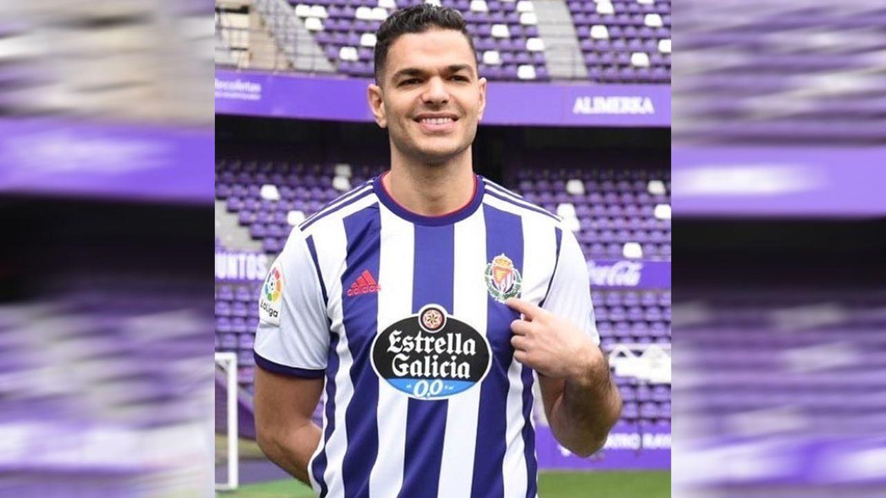 Hatem Ben Arfa lehnt Kopfbälle bei Valladolid-Einstand ab - wegen der Frisur - Bildquelle: realvalladolid/instagram