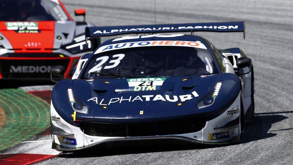 Alexander Albon hat AF Corse bei der Entwicklung geholfen. - Bildquelle: Motorsport Images
