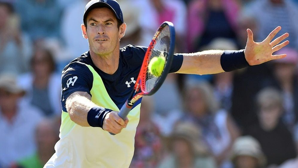 Queen's Club: Andy Murray tritt im Doppel an - Bildquelle: AFPSIDGLYN KIRK