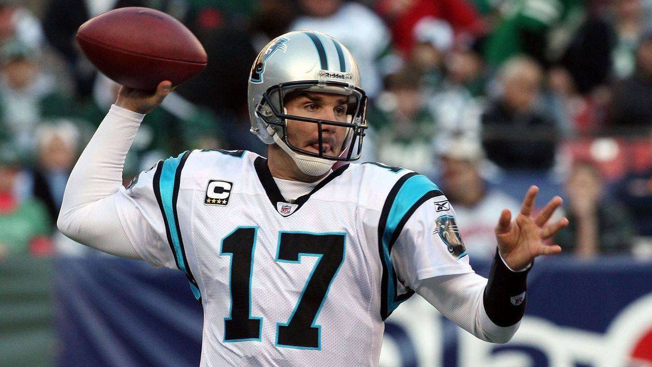 Platz 4: Jake Delhomme - Bildquelle: 2009 Getty Images