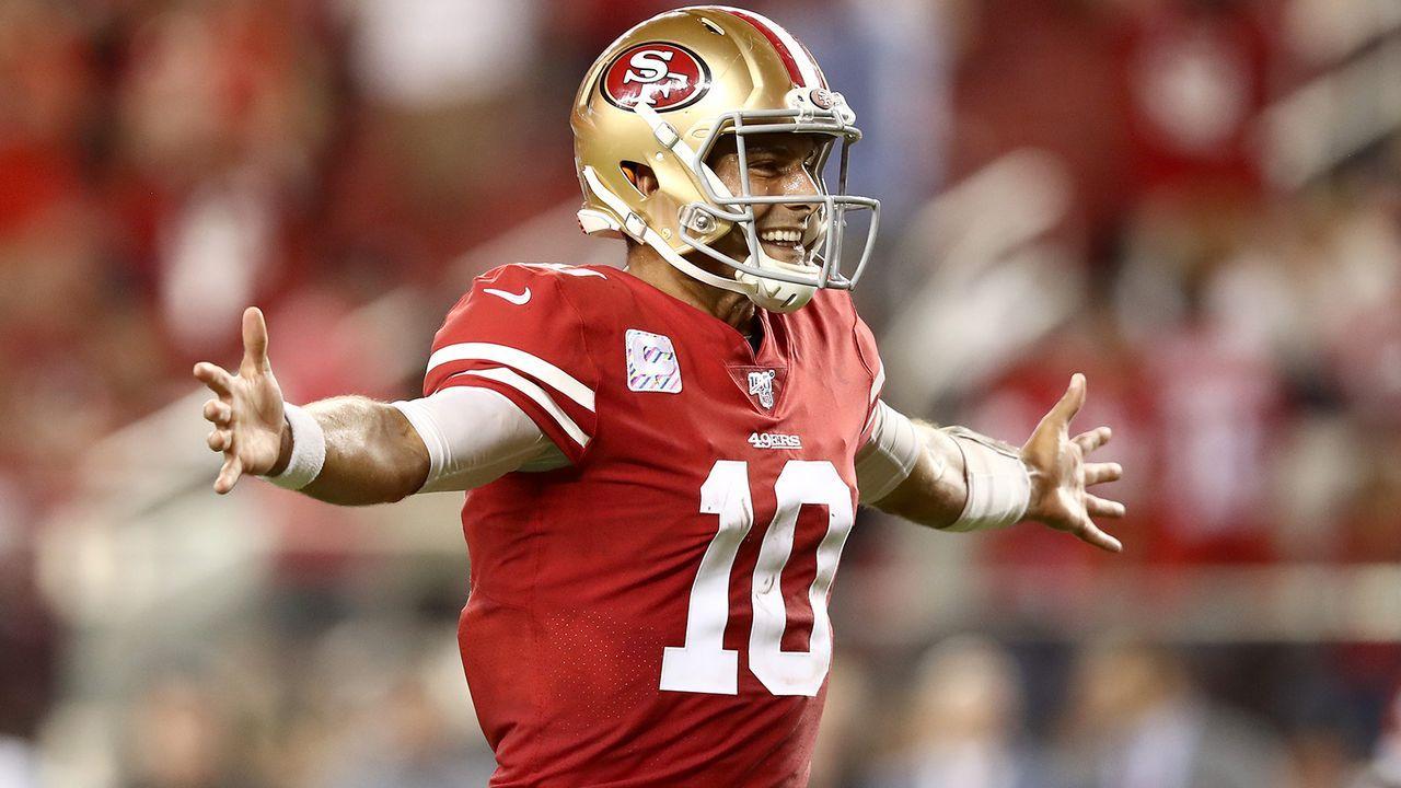 Jimmy Garoppolo (San Francisco 49ers) - Bildquelle: Getty Images