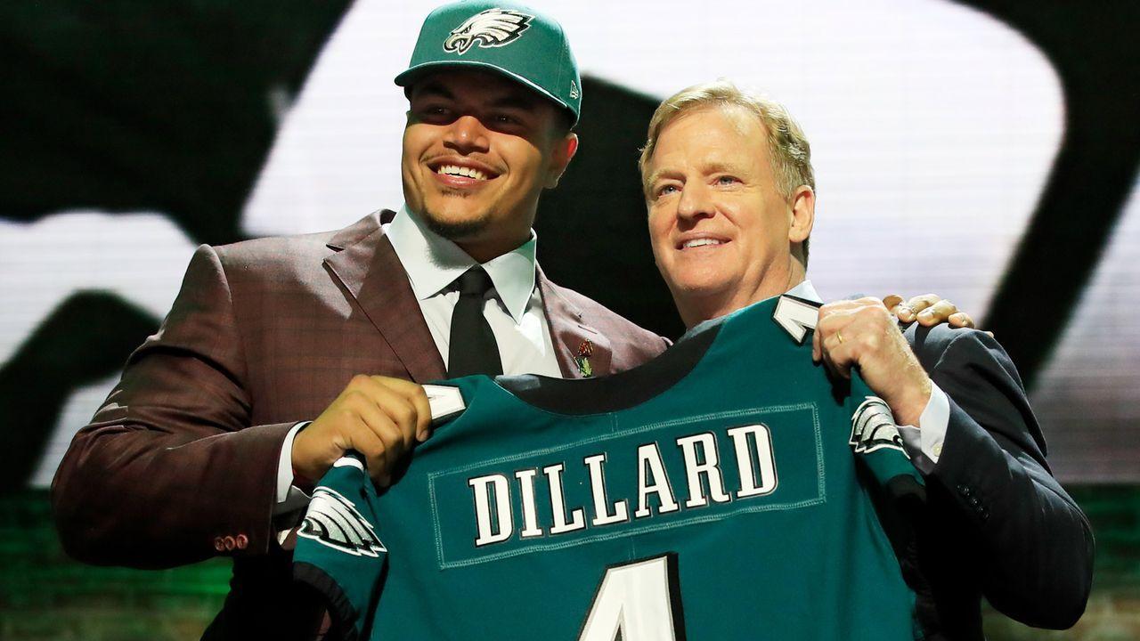 Draft Pick 22: Philadelphia Eagles (durch Trade mit Baltimore Ravens) - Bildquelle: Getty