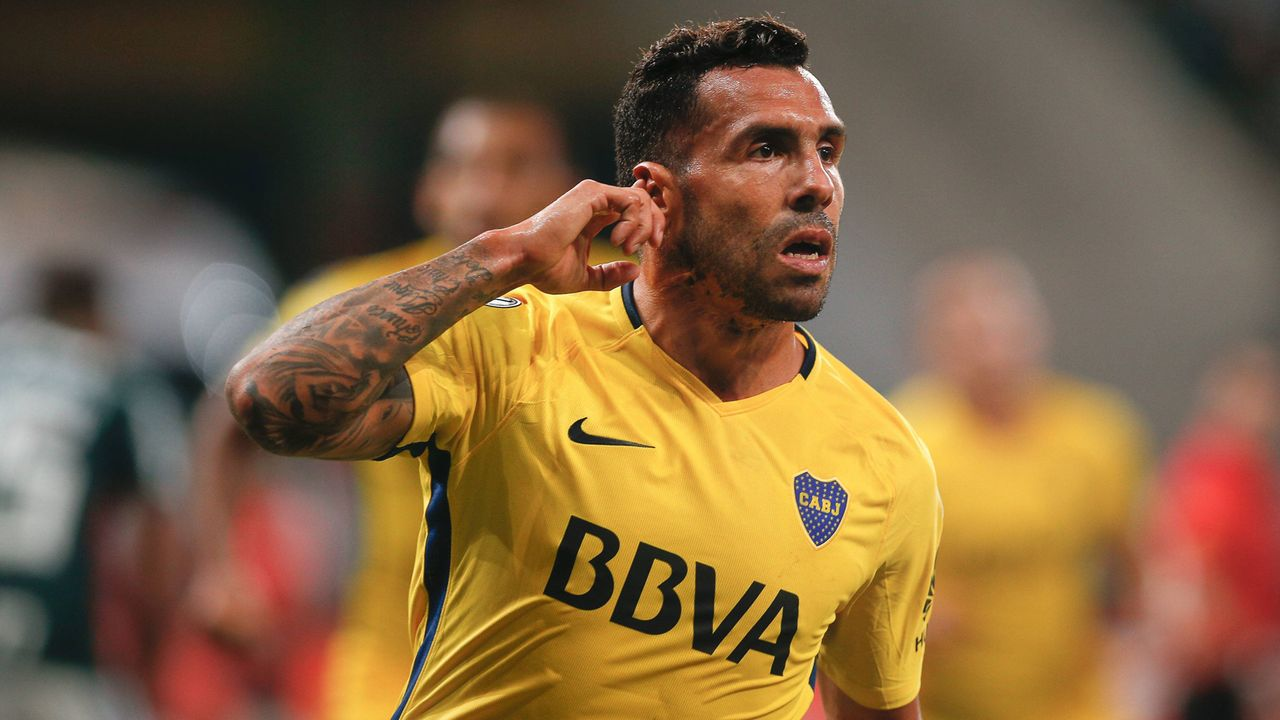 Carlos Tevez (Boca Juniors) - Bildquelle: imago