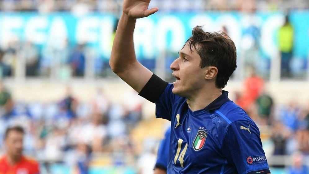 Federico Chiesa träumt vom großen Wurf mit Italien - Bildquelle: AFPSIDALBERTO LINGRIA