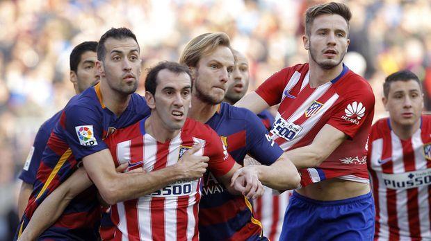 Barcelona Gegen Atlético Madrid
