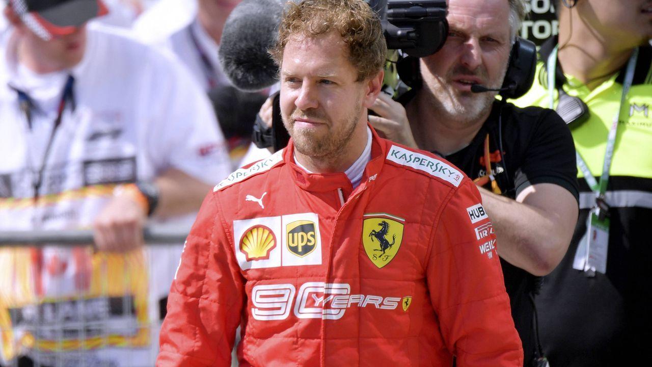 Sebastian Vettel (Ferrari) - Bildquelle: imago images / Laci Perenyi