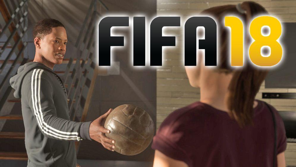 """Auch in FIFA 18 wird es wieder den """"Journey Modus"""" geben. Diesmal sogar mit ... - Bildquelle: EA Sports"""