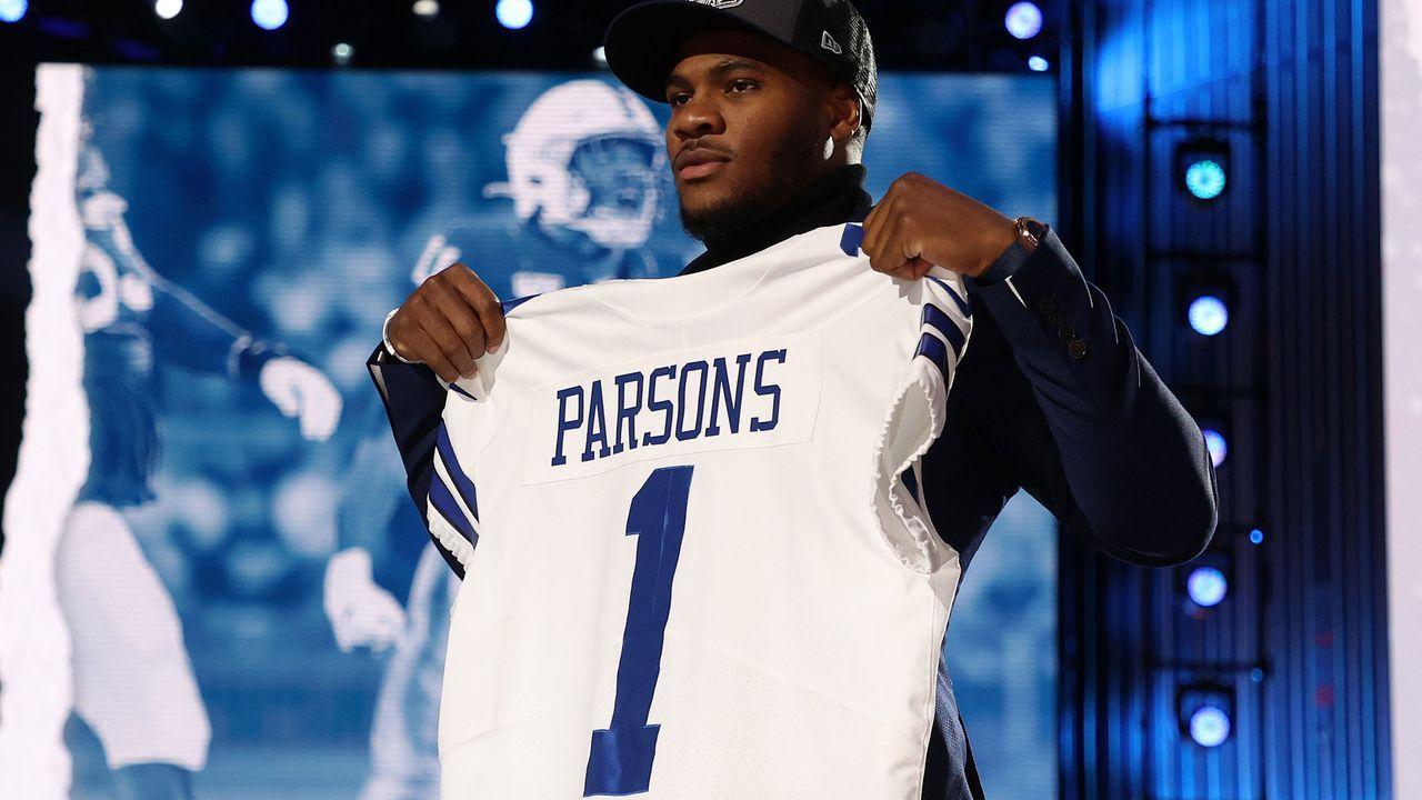 12. Pick - Micah Parsons (Linebacker, Dallas Cowboys) - Bildquelle: 2021 Getty Images