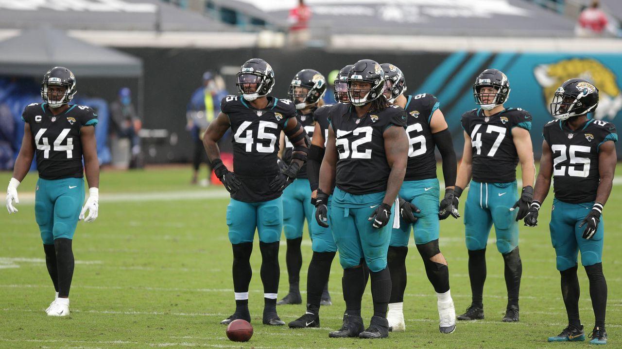 Jacksonville Jaguars (1-10 zum Zeitpunkt des Ausscheidens) - Bildquelle: imago images/Icon SMI