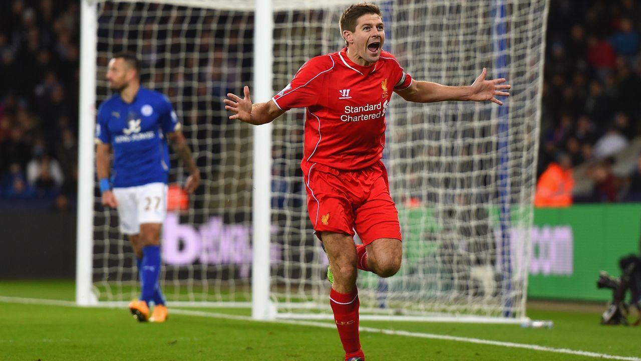 Steven Gerrard - Bildquelle: 2014 Getty Images