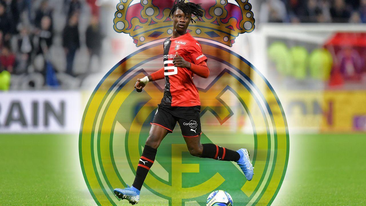 Eduardo Camavinga (Stade Rennes) - Bildquelle: imago images / PanoramiC