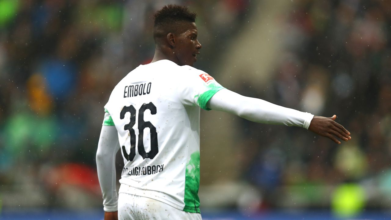 Breel Embolo (Borussia Mönchengladbach) - Bildquelle: Getty Images