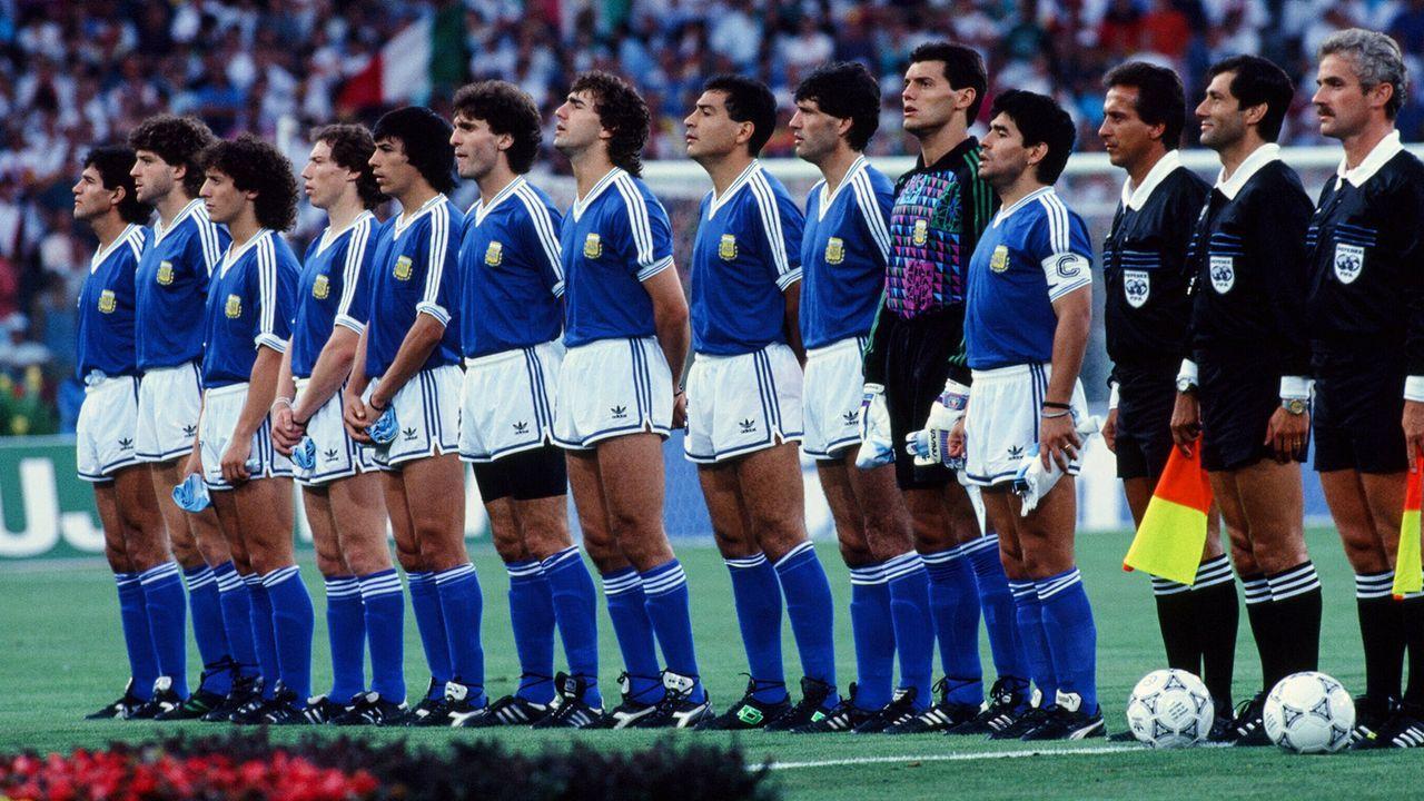 WM-Finale 1990: Argentinien - Deutschland - Bildquelle: imago images/Sportfoto Rudel