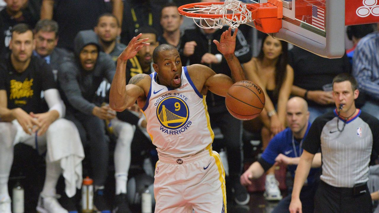 Platz 9: Andre Iguodala (Golden State Warriors)               - Bildquelle: imago images / UPI Photo