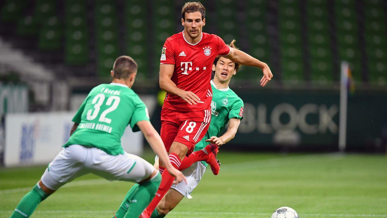 Bayern gegen Bremen: Bundesliga-Rekord-Begegnung - Bildquelle: 2020 Getty Images