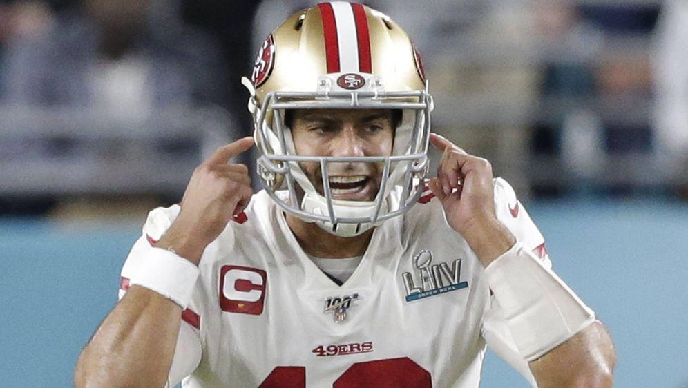 Startete 2019/20 noch im Super Bowl: Jimmy Garoppolo - Bildquelle: imago images/UPI Photo