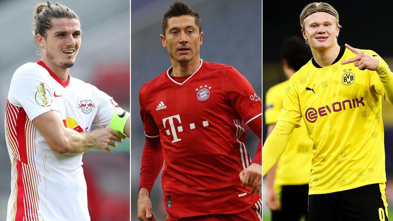 Diese Bundesliga-Stars sind für die Wahl zum UEFA-Team des Jahres 2020 nominiert - Bildquelle: Getty Images