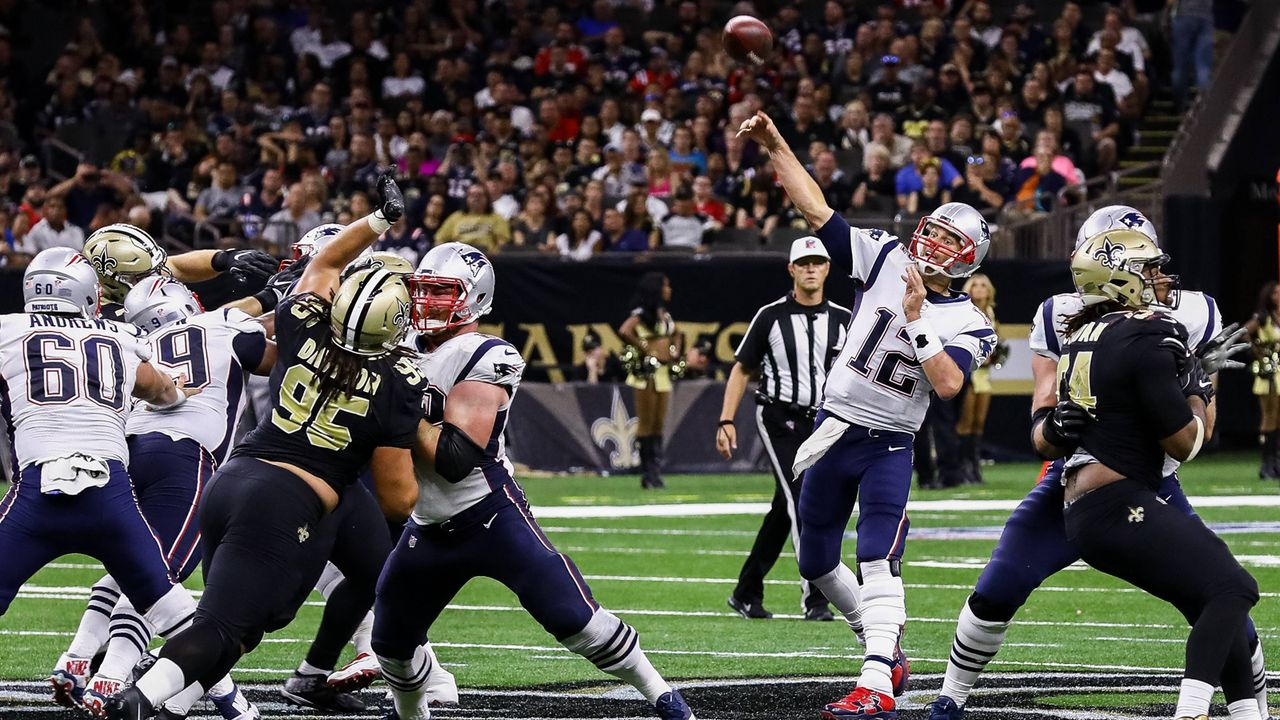 New England Patriots vs. New Orleans Saints - Bildquelle: imago