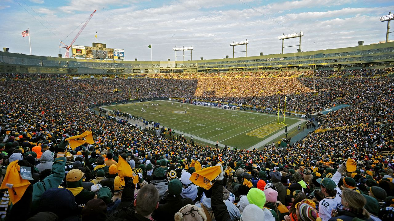 Green Bay Packers: Lambeau Field - Bildquelle: Getty Images