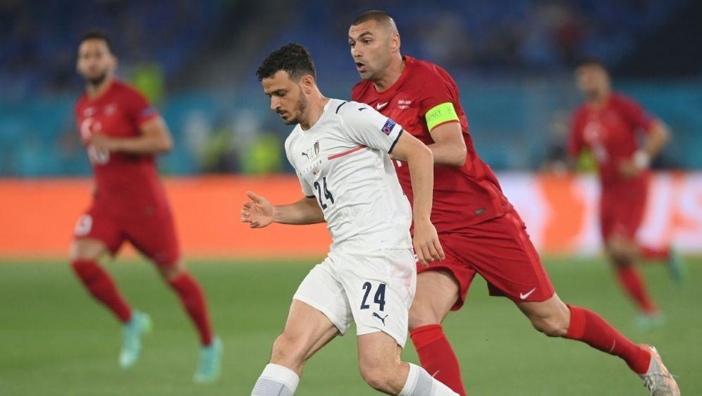 Florenzi wurde im Spiel gegen die Türkei ausgewechselt - Bildquelle: AFPPOOLSIDMIKE HEWITT