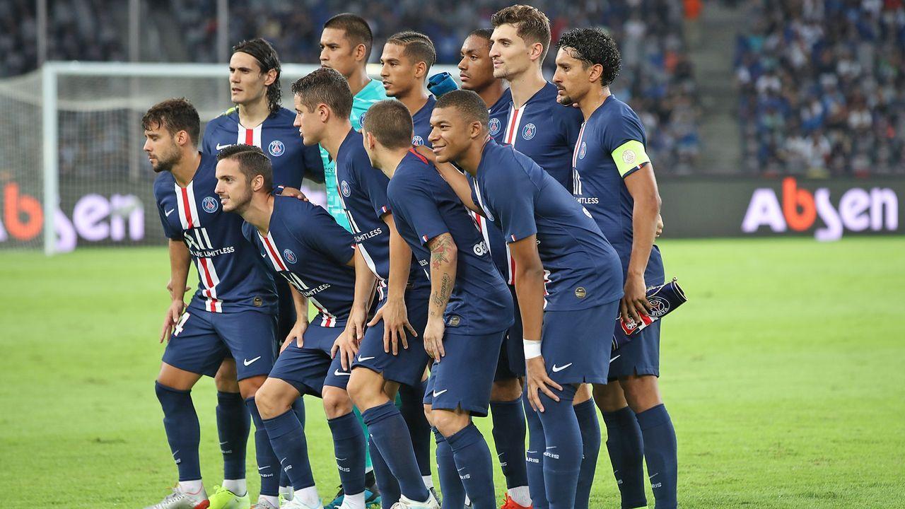 Platz 7: Paris Saint-Germain - Bildquelle: 2019 Getty Images