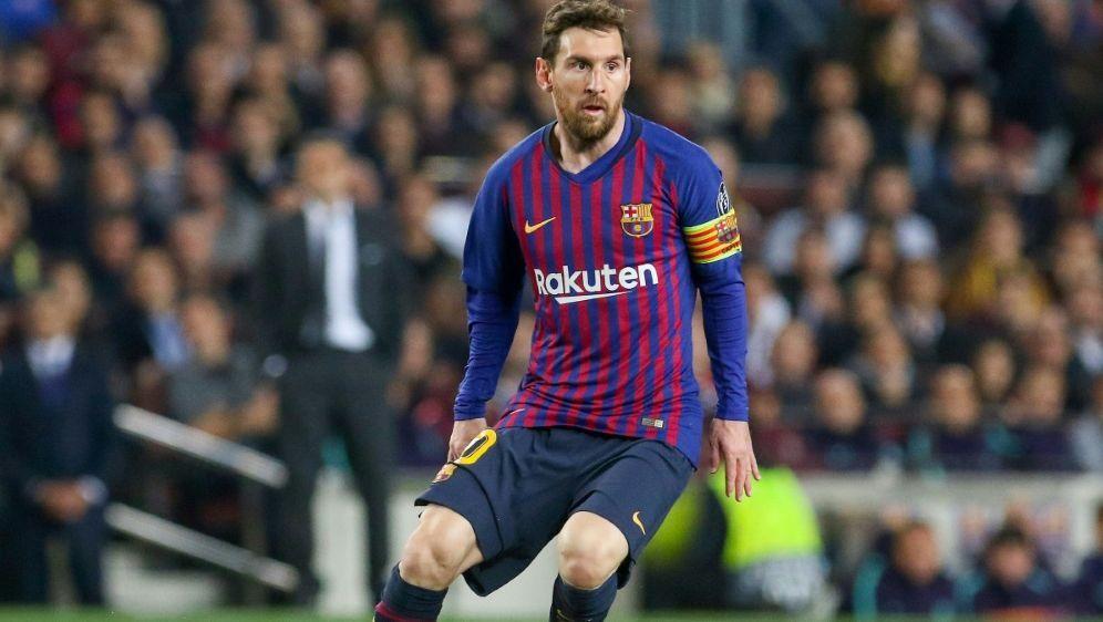 Vertragsverlängerung in Barcelona ungewiss: Lionel Messi - Bildquelle: FIRO FIROSID