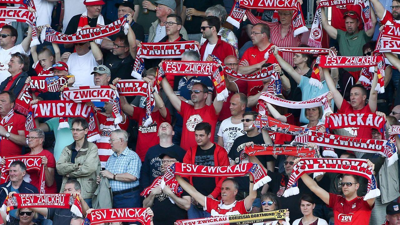 Platz 14: FSV Zwickau - Bildquelle: imago images / Picture Point